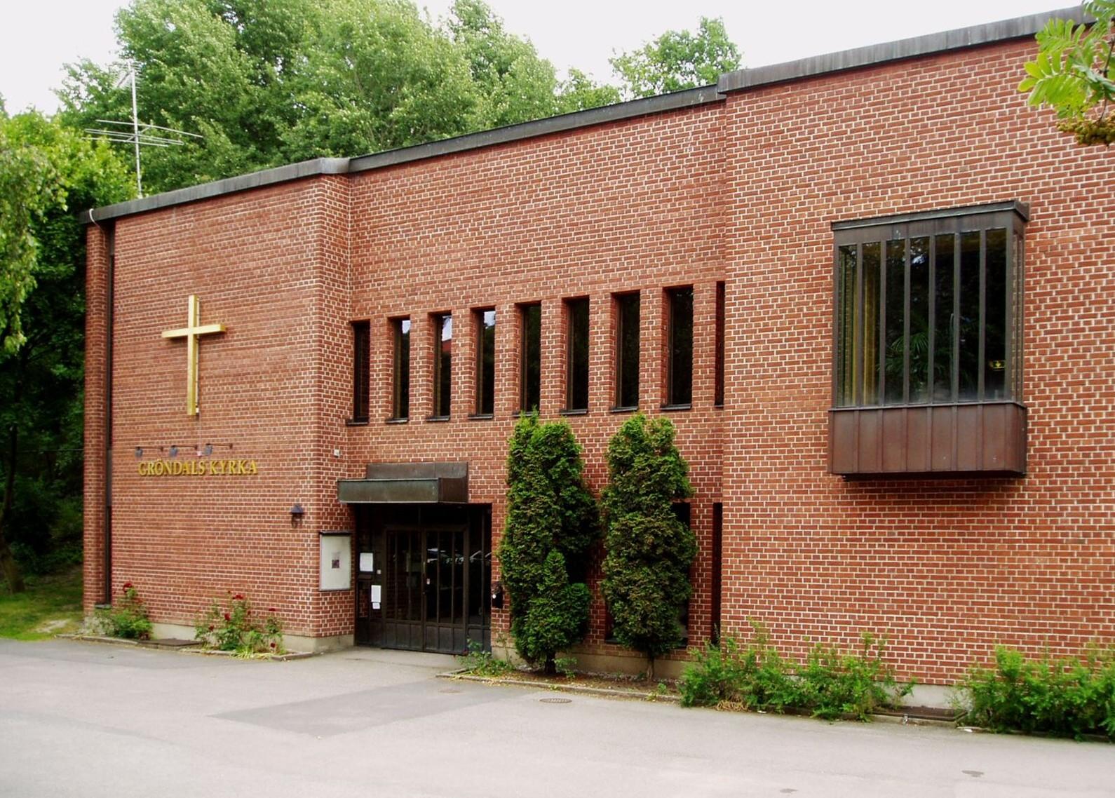 Bild av Gröndals kyrka