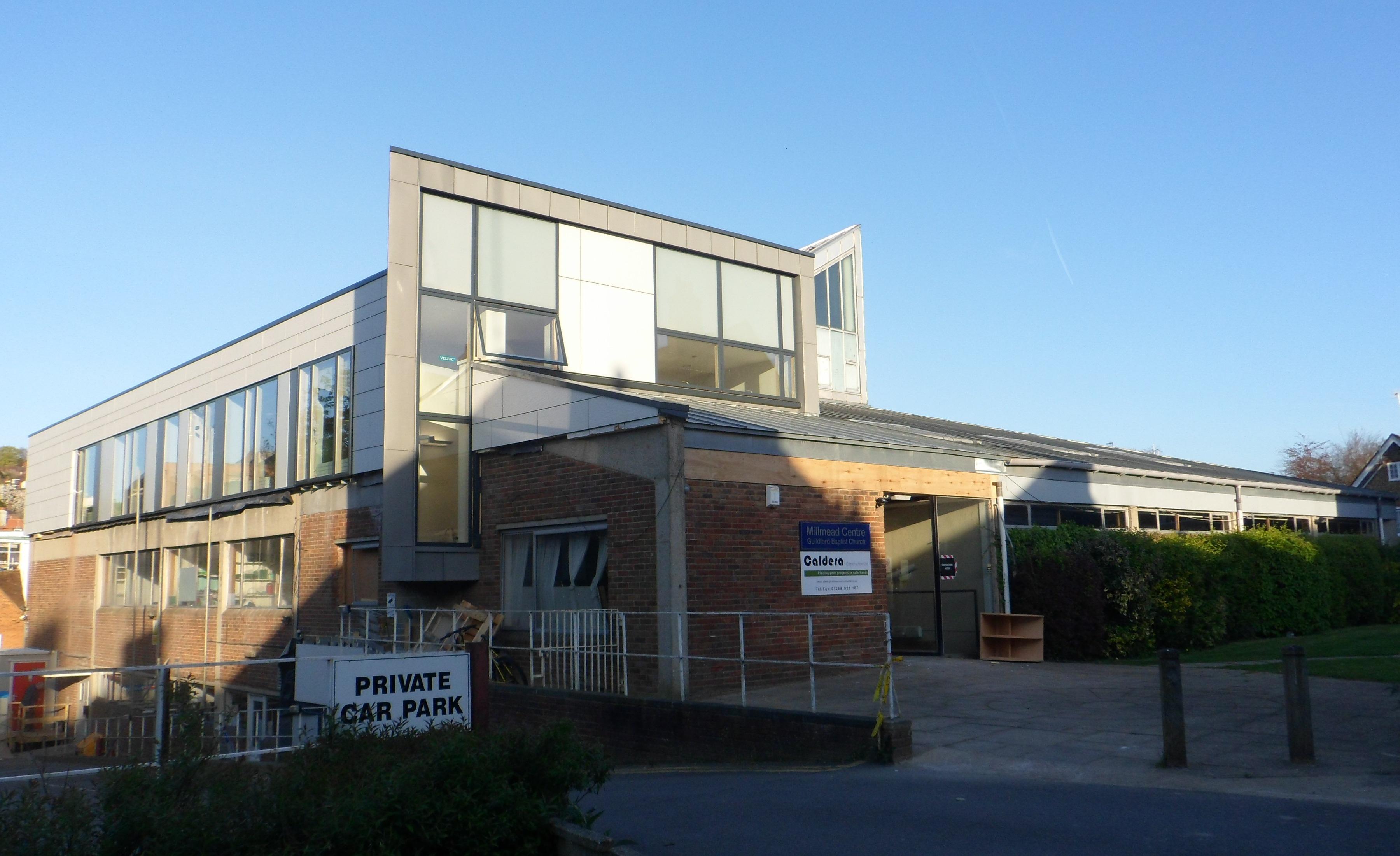 File:Guildford Baptist Church, Millmead Centre, Bury ...