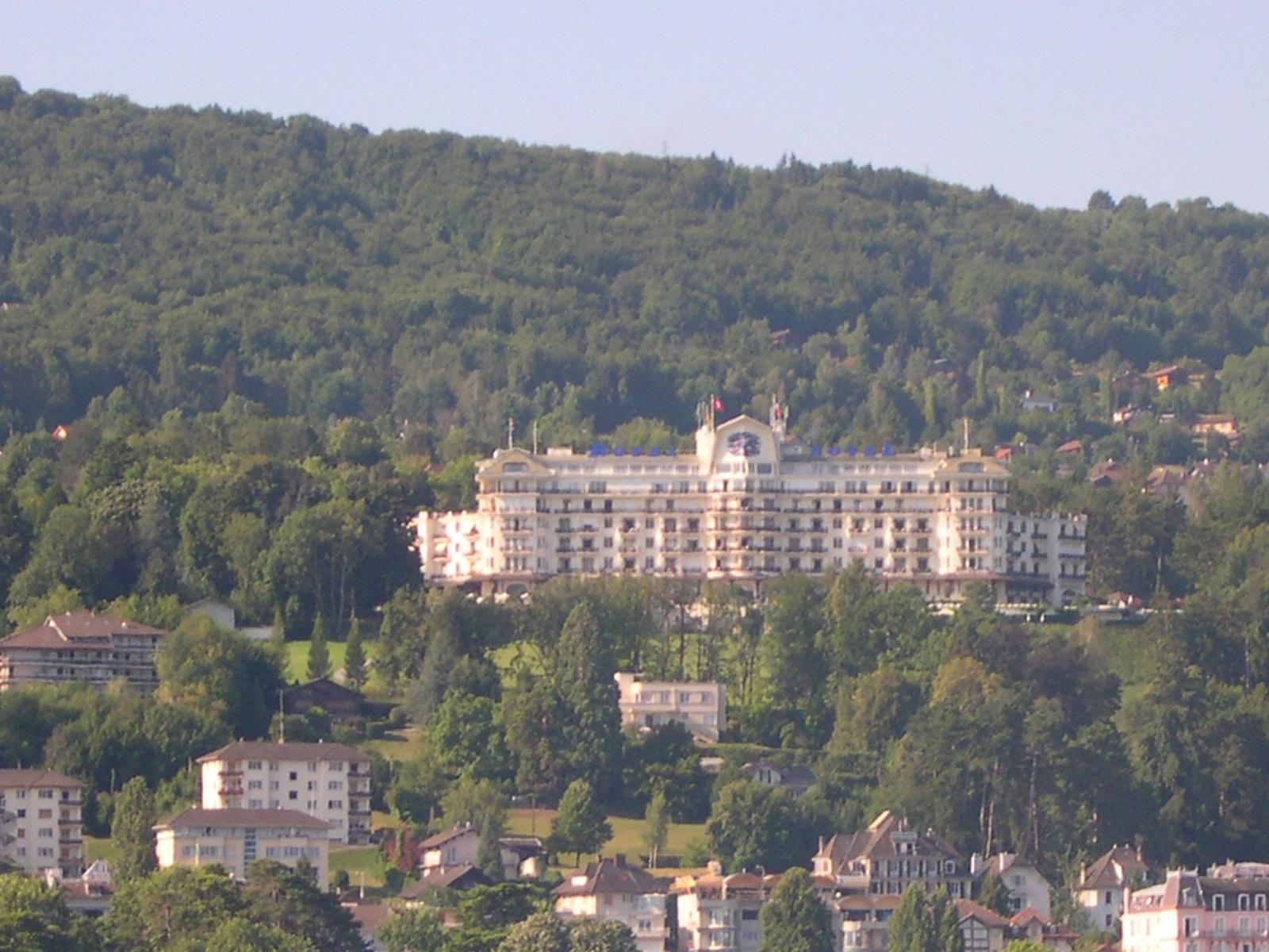 Vian les bains wikipedia - Hotel royal evian les bains ...