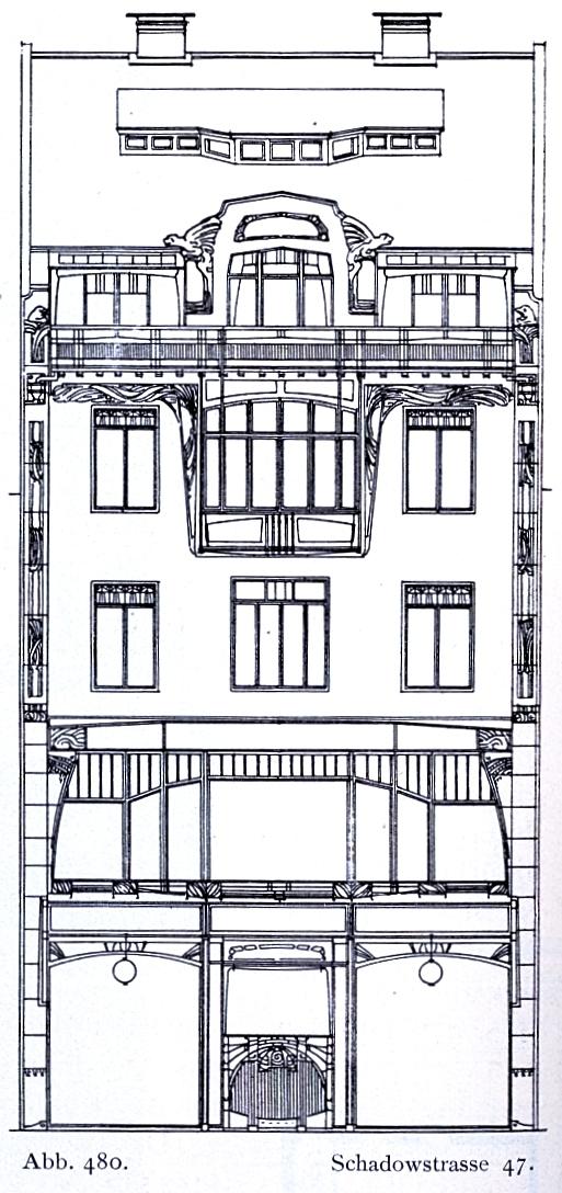 file haus schadowstr 47 in d sseldorf f r ingenieur h. Black Bedroom Furniture Sets. Home Design Ideas