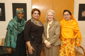 International Women's Day Honorees Visit HHS 2008.jpg