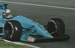 Ivan Capelli driving a March 881 at the 1988 Canadian Grand Prix.
