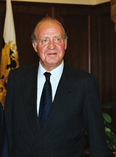 Juan Carlos I en 2001