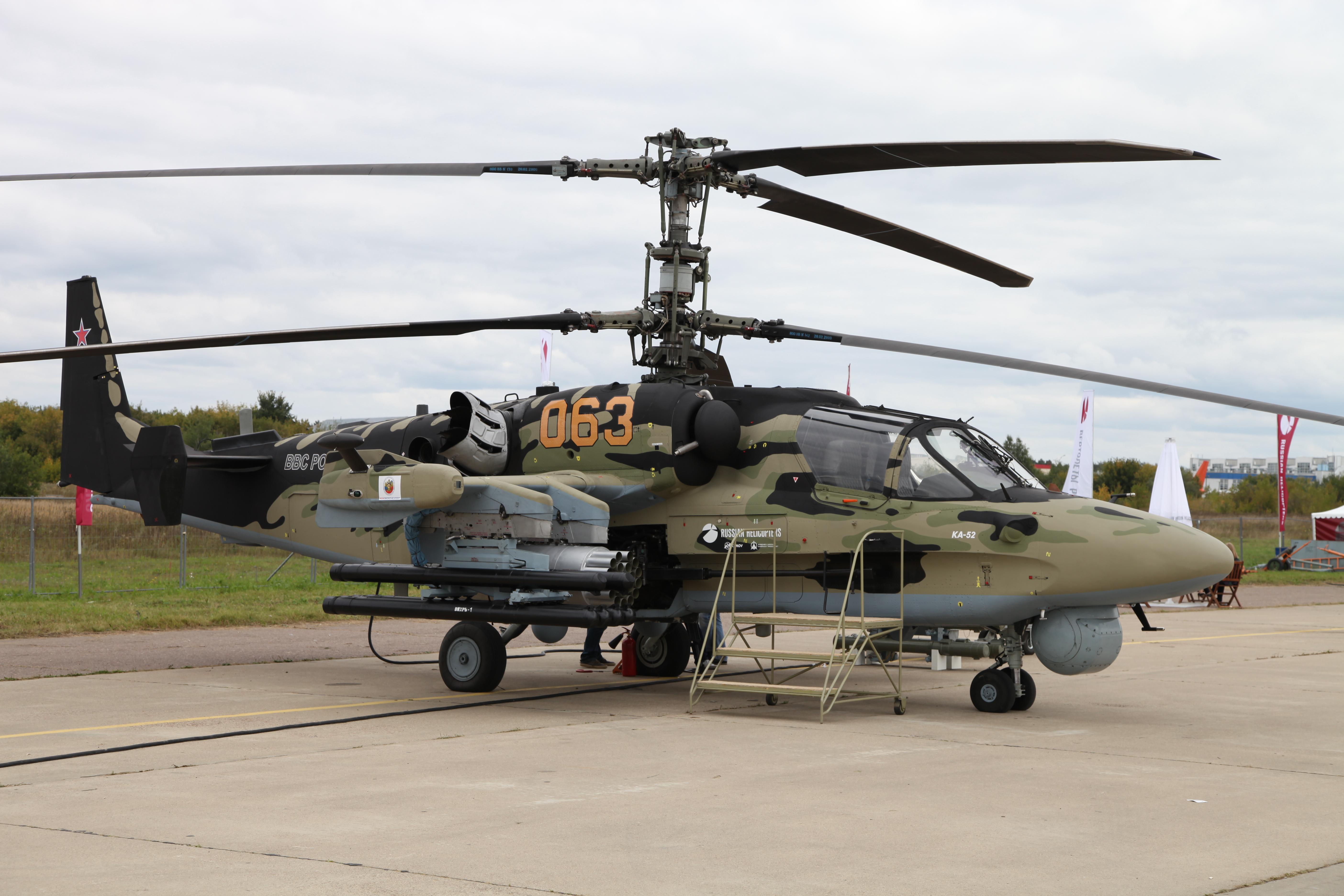 Обои ударный, российский, «аллигатор», Ка-52. Авиация foto 15