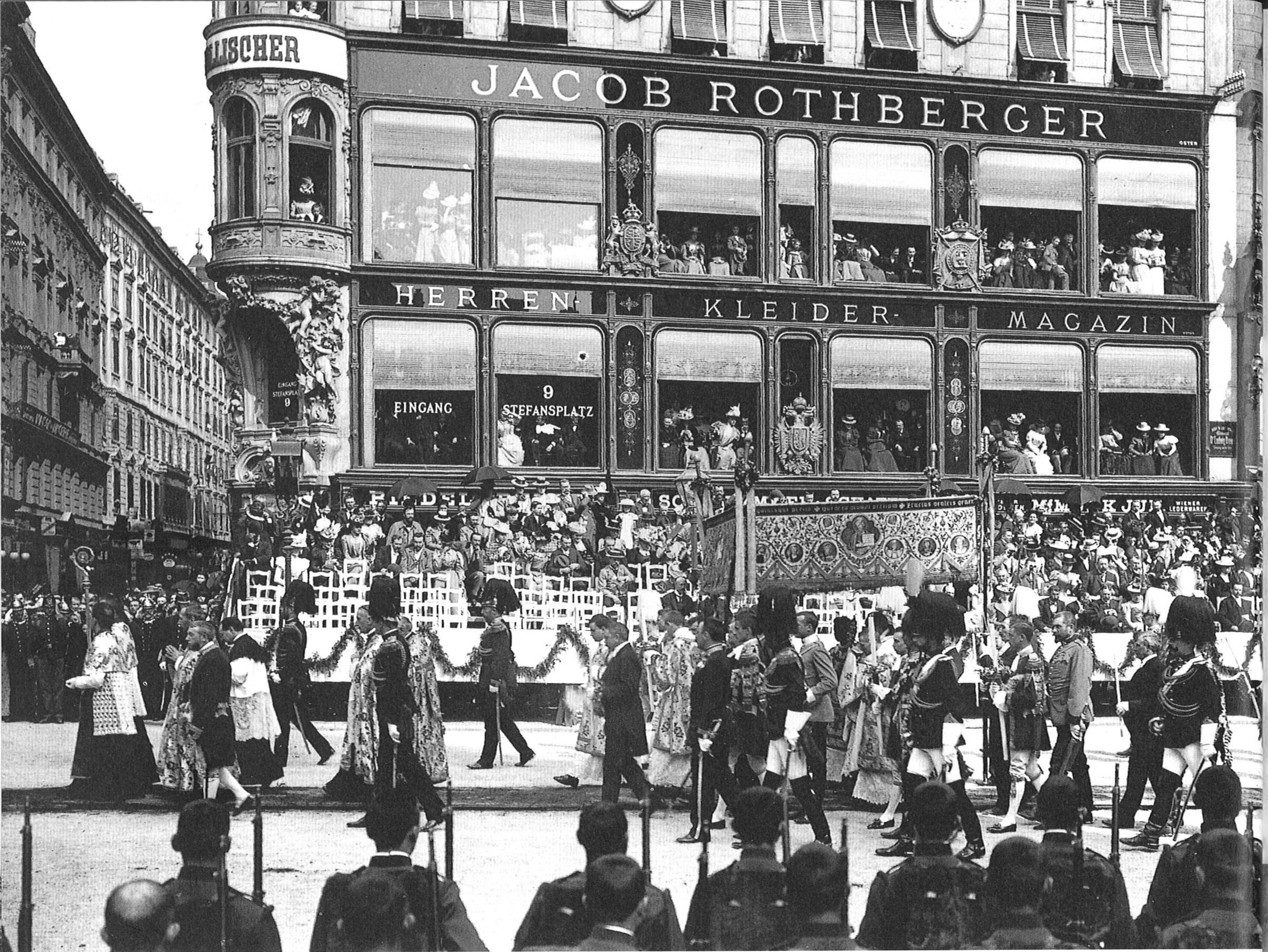 File:Kaiser Franz Joseph I Fronleichman Wien 1898.jpg