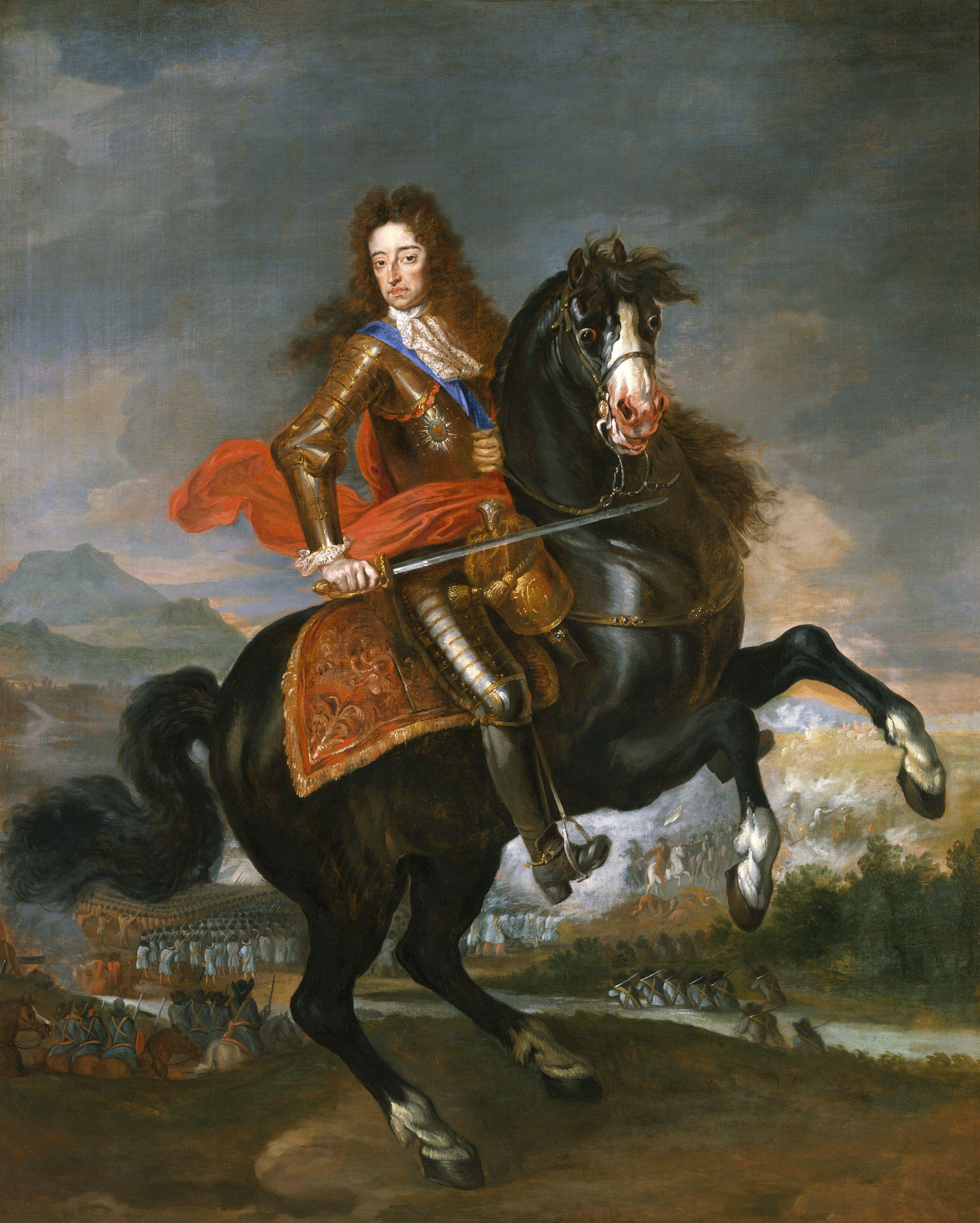 william of orange conquered ireland