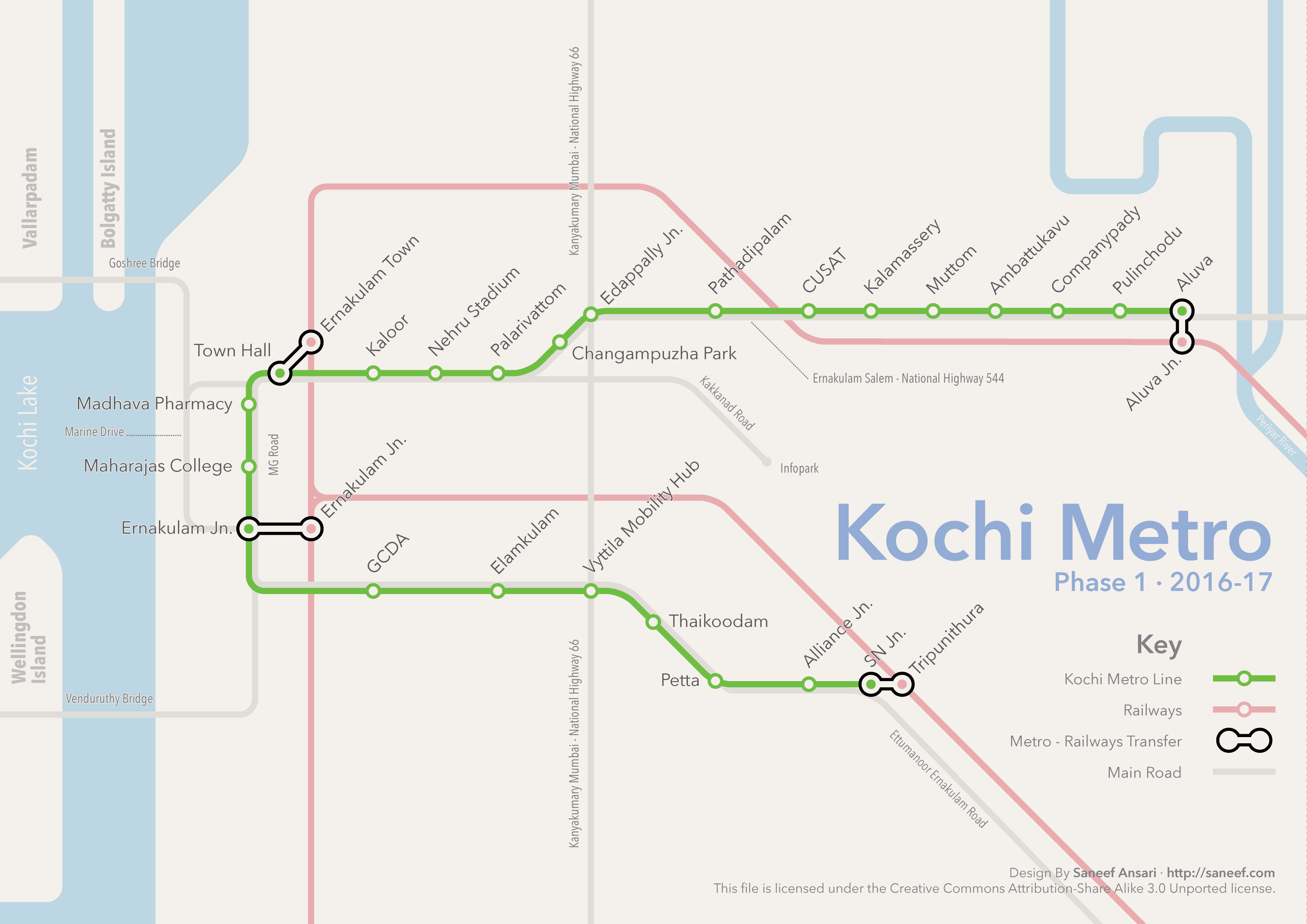 List Of Kochi Metro Stations Wikipedia