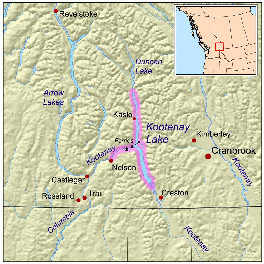 Kootenay Lake Wikipedia