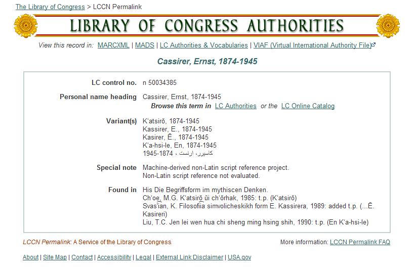 Контрольный номер Библиотеки Конгресса Википедия