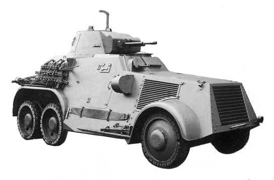 The Landsverk L-180 was a successful export model, although production was limited
