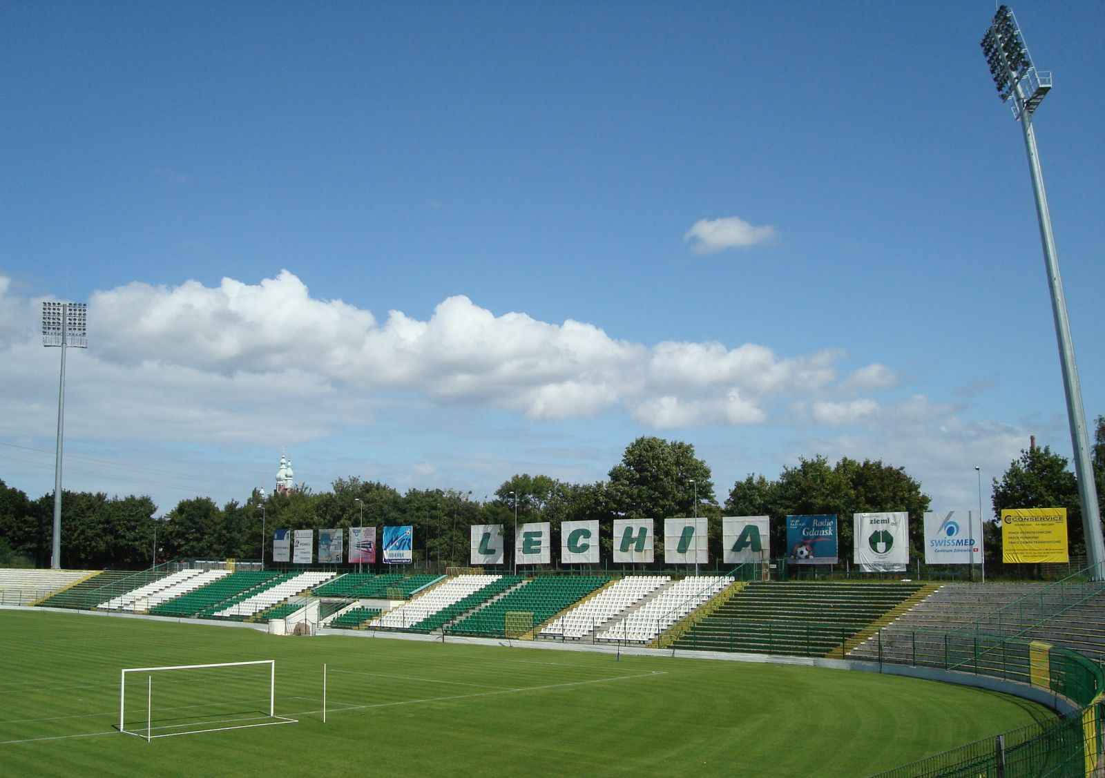 "File:Lechia Gdansk Stadion, Grandstand ""Prosta"", August ..."