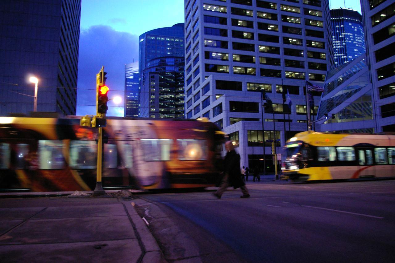 Minneapolis Şehir İçi Ulaşım