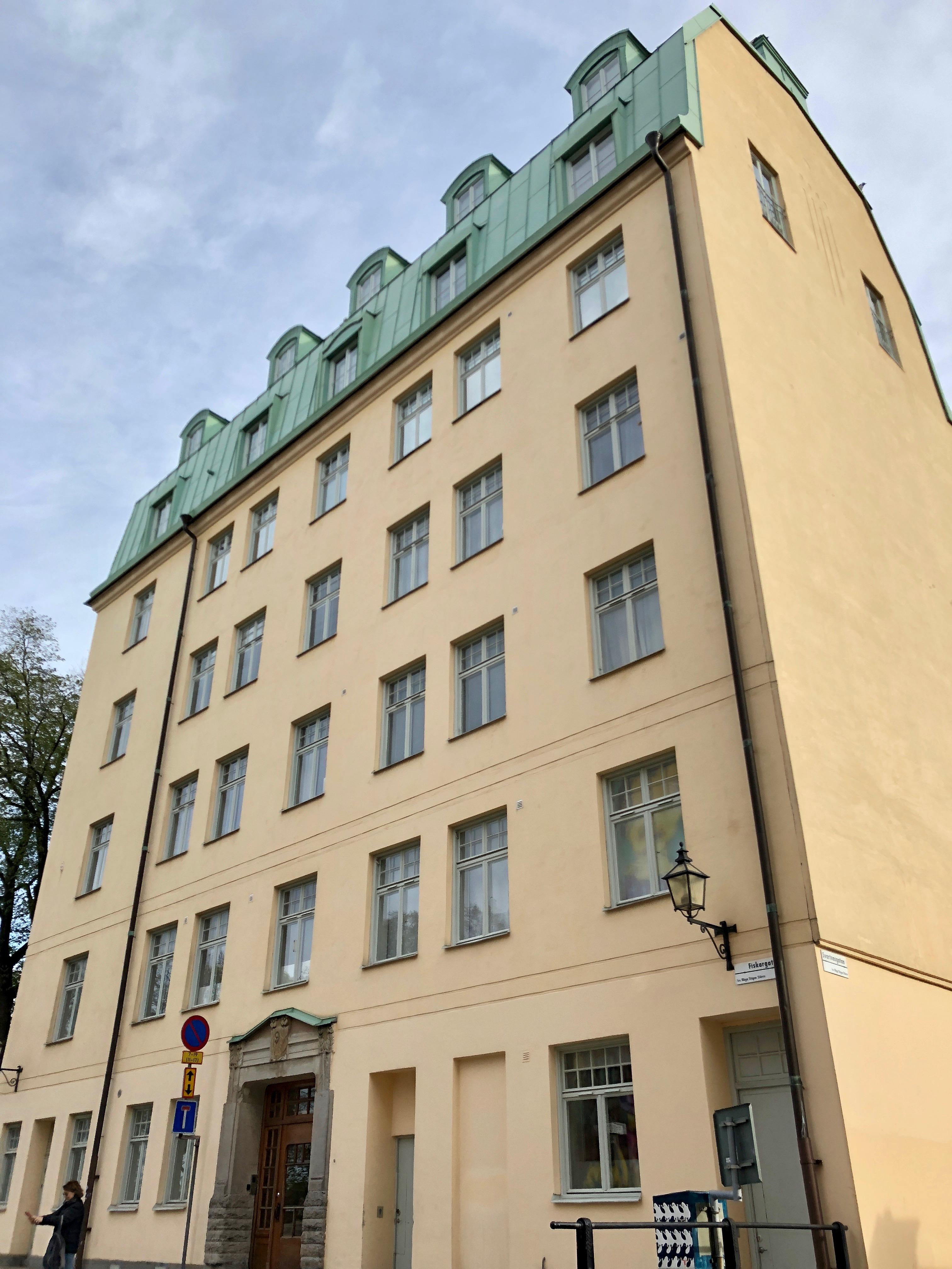 File Lisbeth Salander S Apartment On The Top Floor In Södermalm 30358511007 Jpg