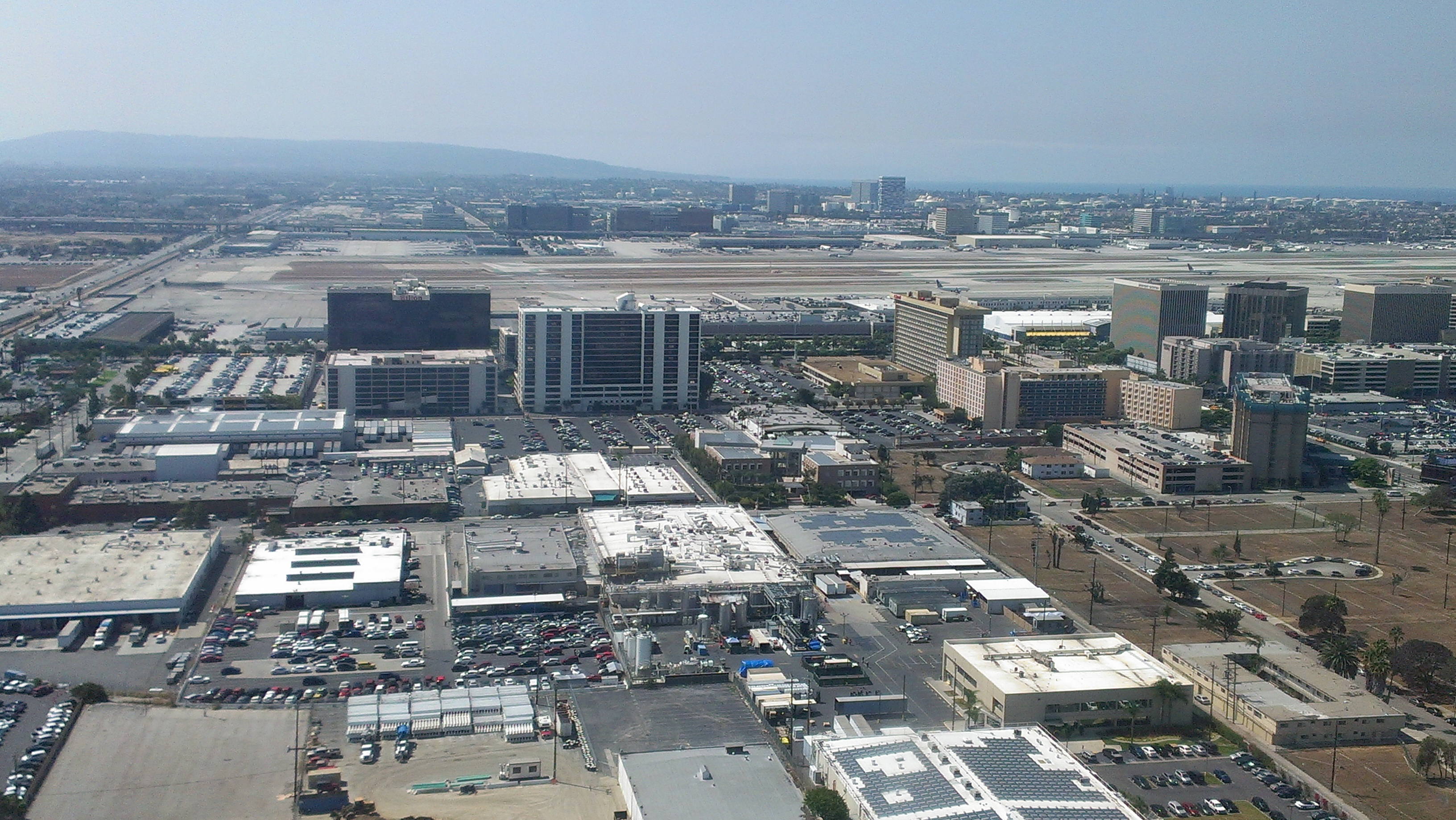 File Los Angeles Airport Lax Hotels Aerial View