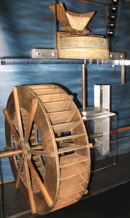 Historique moulins technique for Moulin en bois pour jardin