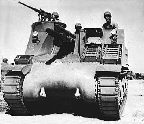 M-7 Priest 105mm Self-Propelled Howitzer
