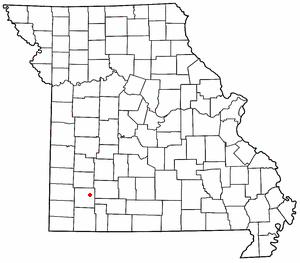 Chesapeake, Missouri community in Lawrence County, Missouri, United States