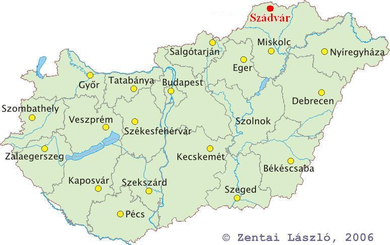 magyarország térkép győr File:Magyarország térképe   Szádvár.   Wikimedia Commons magyarország térkép győr