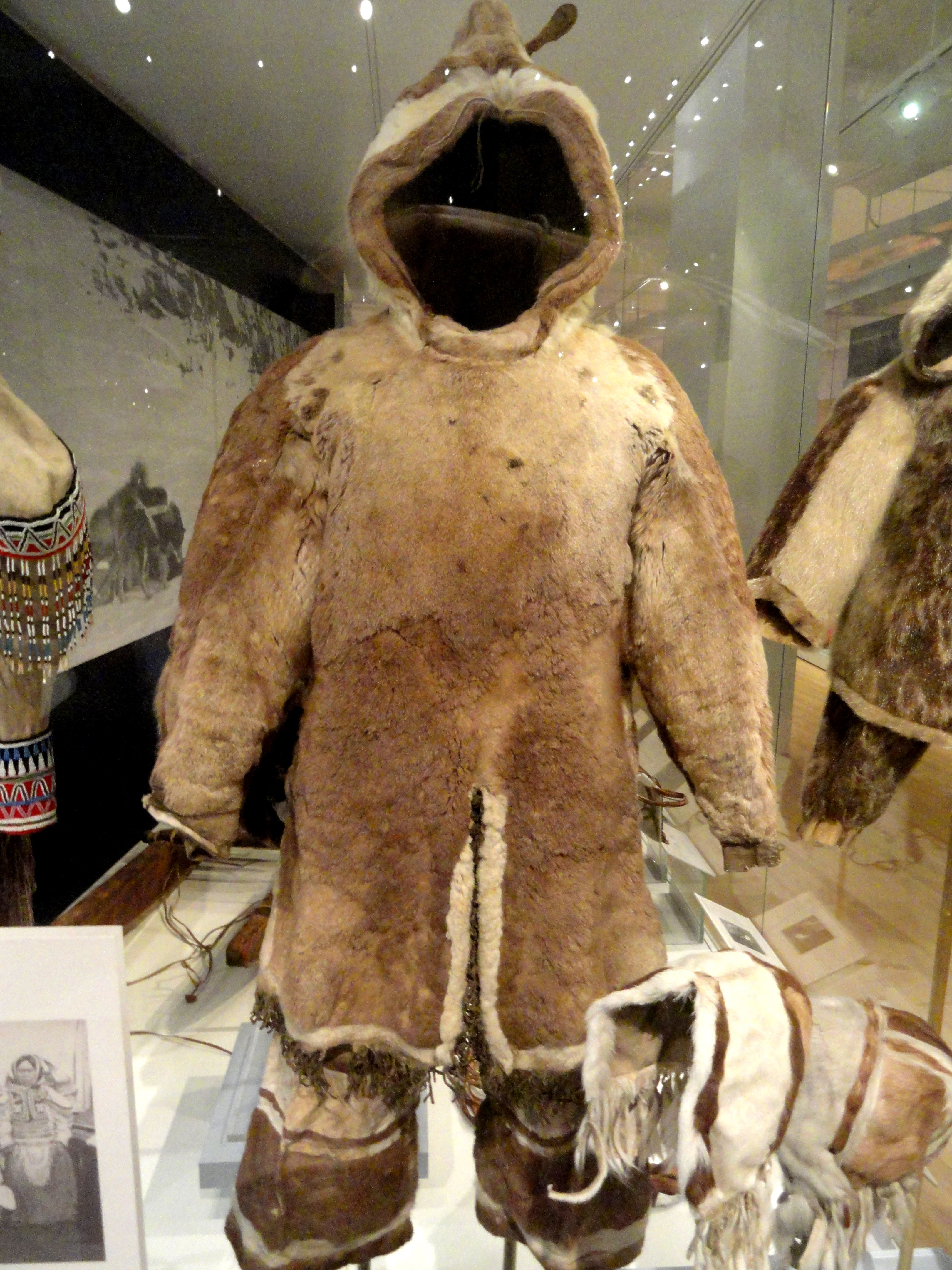 File Man S Parka And Pants Inuit Southern Baffin Island
