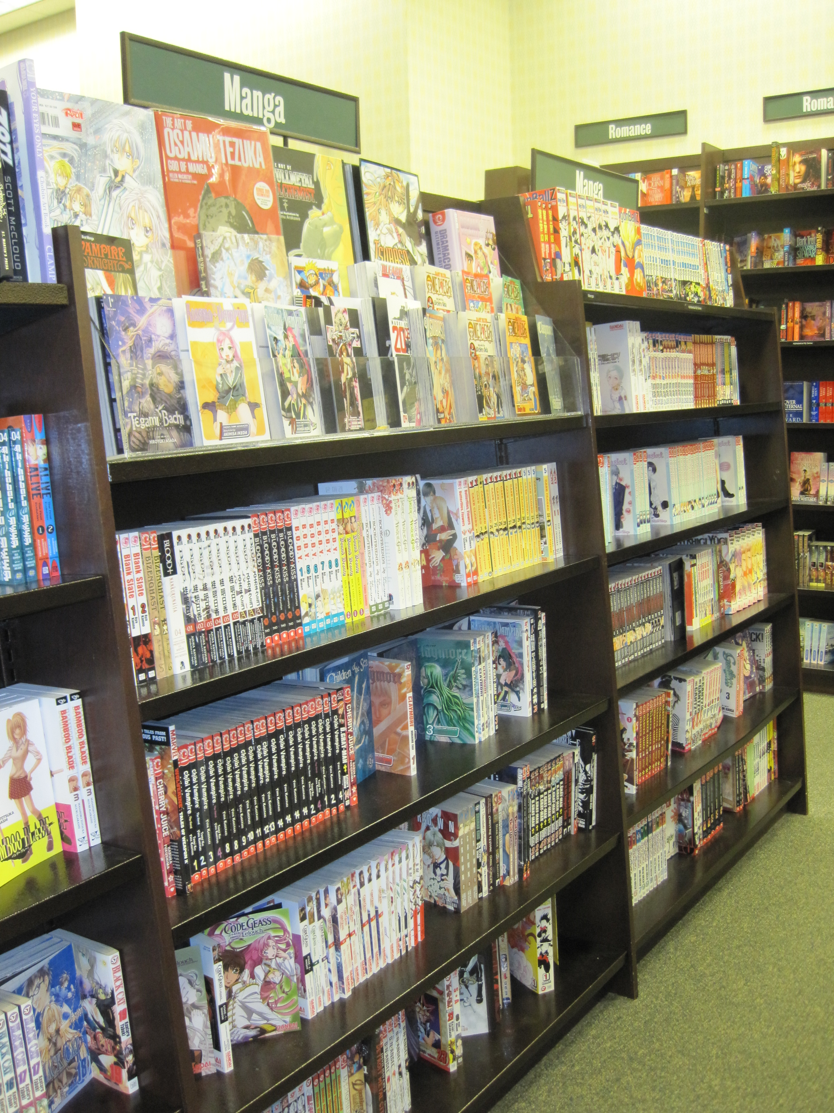 File Manga At Barnes Amp Noble Tanforan 2 Jpg Wikimedia