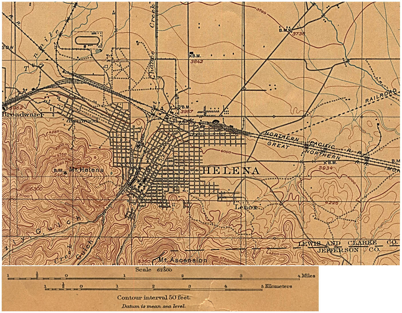 FileMap Of Helena Montana 1899jpg  Wikimedia Commons