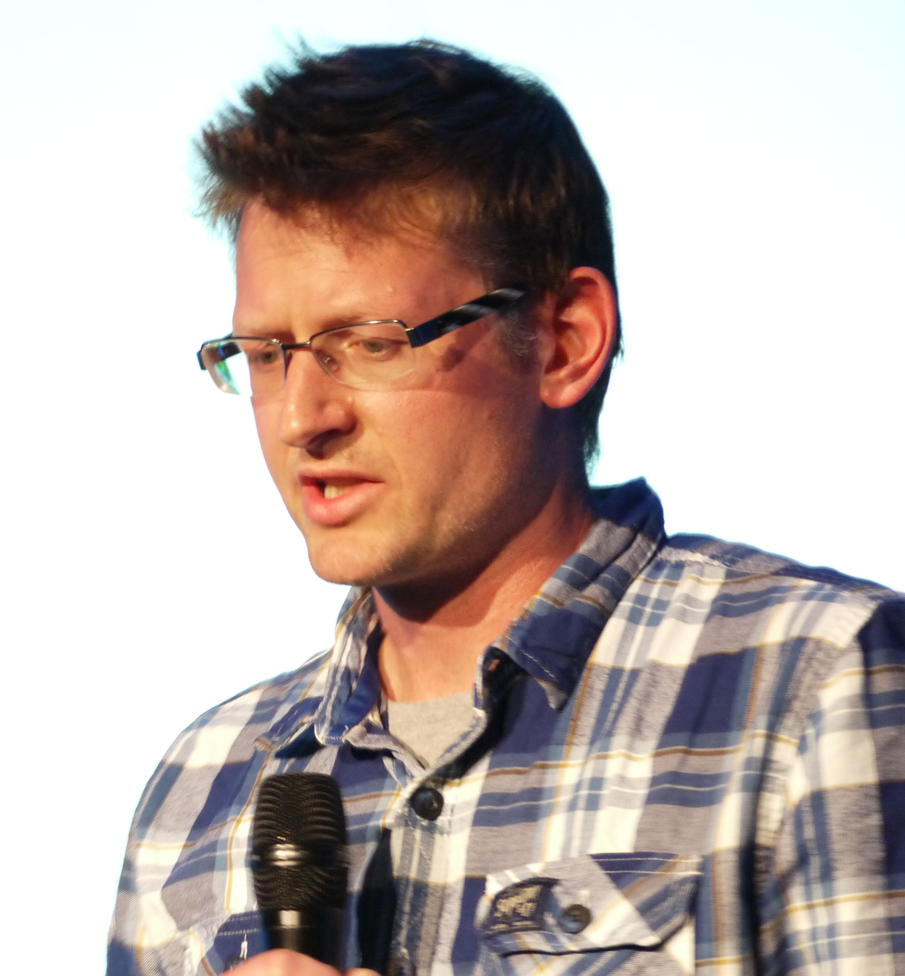 Mark Lynas speaking at [[QED (conference)|QED 2013]].