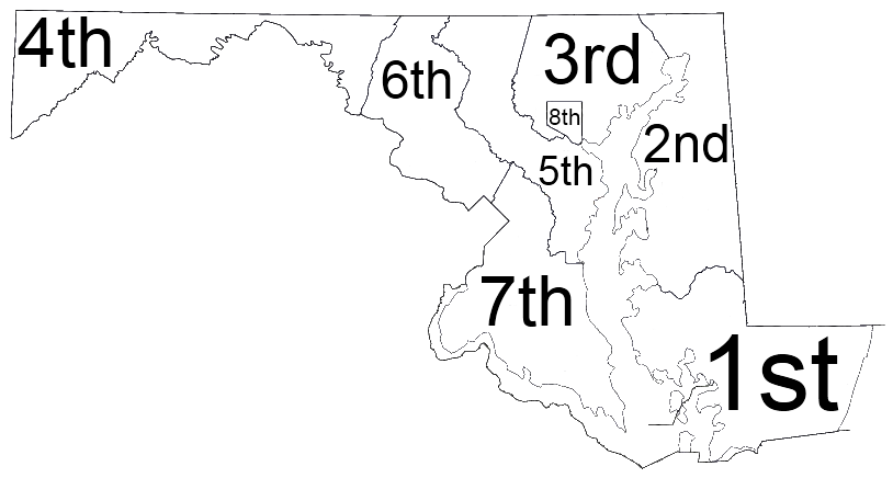 Courts Of Maryland Wikipedia - How do us court circuits map