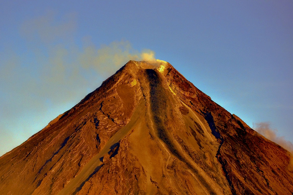 mayon the origin The philippine institute of volcanology and seismology (phivolcs) raised the warning to level two, meaning the current activity displayed by the mayon volcano is.
