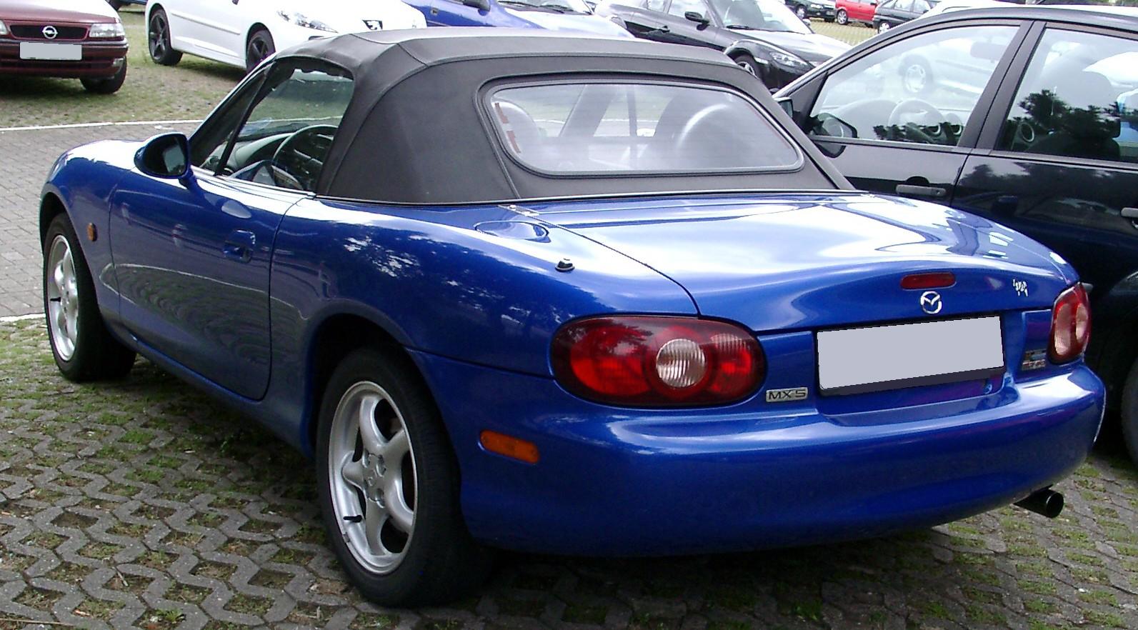 File Mazda Mx 5 Rear 20080711 Jpg Wikimedia Commons