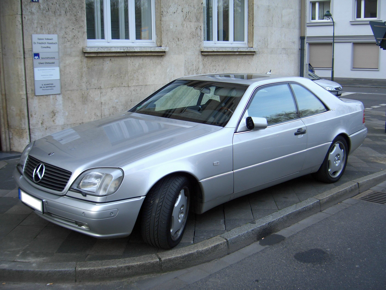 File mercedes benz cl600 c140 1991 1998 frontleft 2008 04 for Mercedes benz c 600
