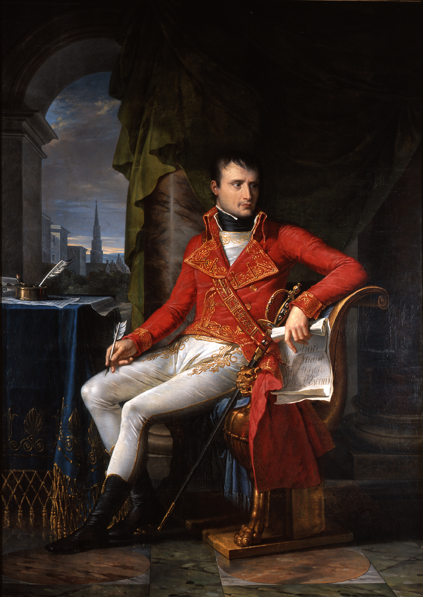 "the life and achievements of napoleon bonaparte For wordsworth, haydon's painting was ""sublimely empty"",33 leaving the reader with the impression that napoleon was contemplating his own life and achievements, an ""historical figure [who] considered himself as historical""34 in stark contrast to haydon's paintings, marryat's sketch – drawn, allegedly, fourteen hours after."