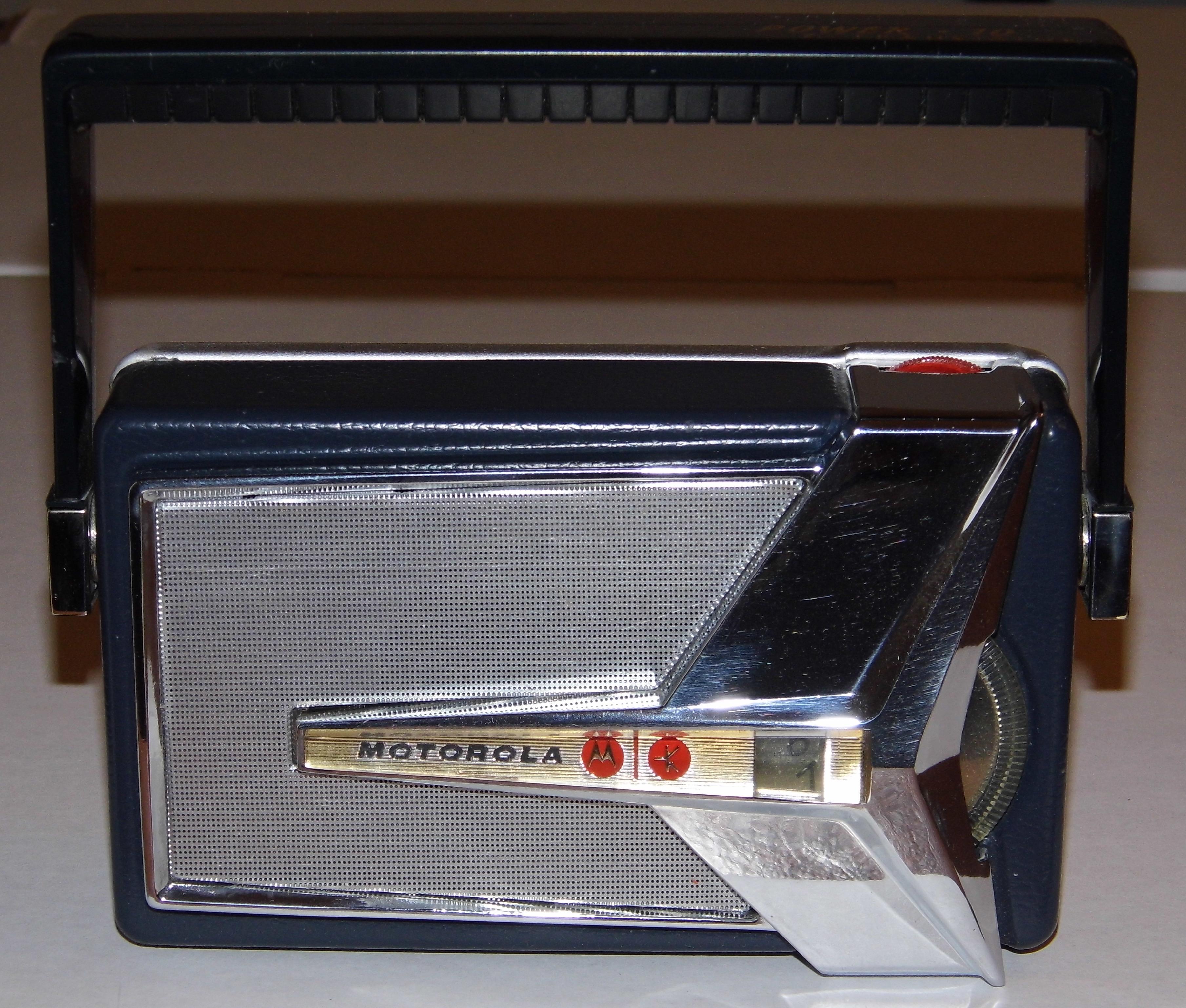 """Power Of Ten >> File:Motorola """"Power Ten"""" 7-Transistor Radio, Model 7X23E, Made in Japan, Circa 1959, """"Jet Plane ..."""