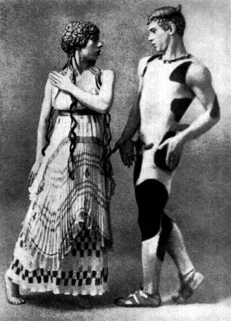 Ca s'est passé en avril ! Nijinsky_as_the_faun%2C_photographs_by_Adolf_de_Meyer_1912