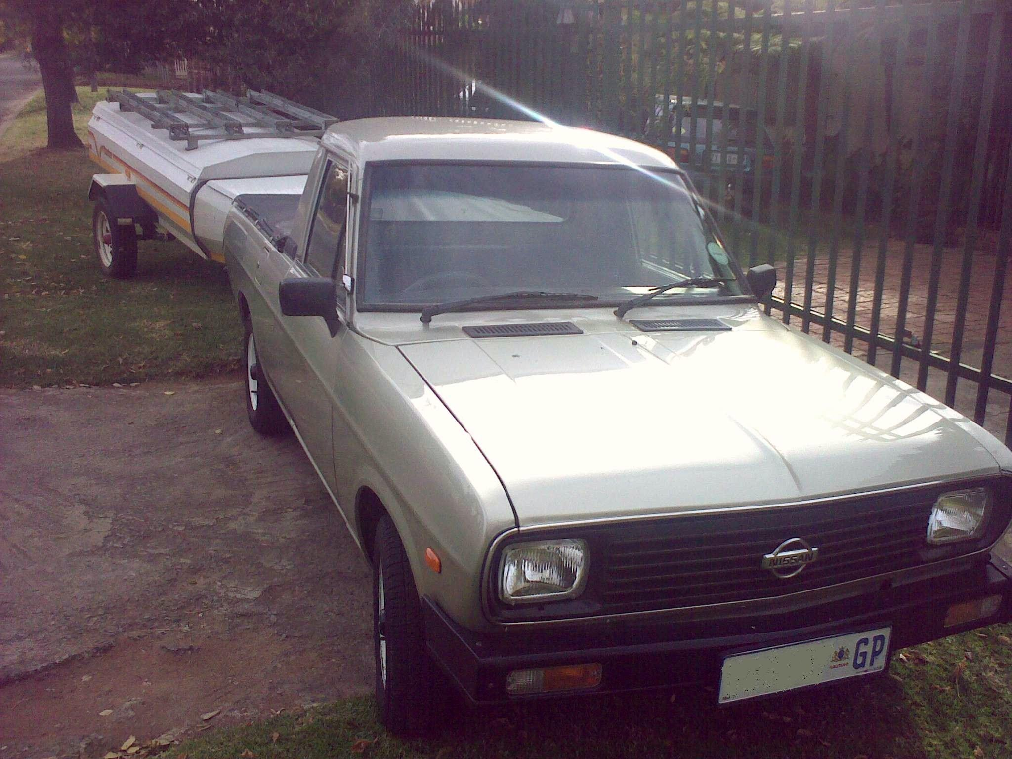 Modified Nissan 1400 Bakkies
