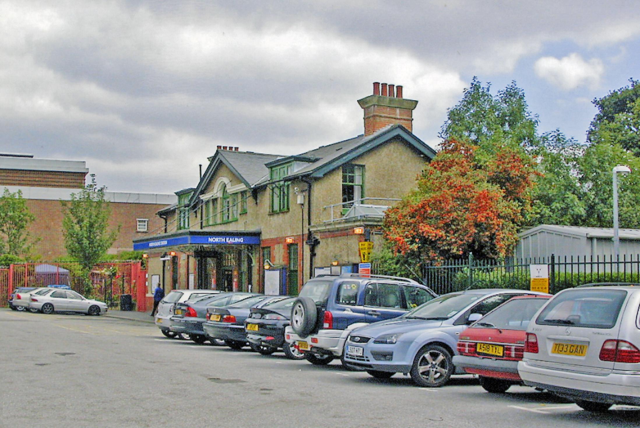 North Ealing Station Car Park