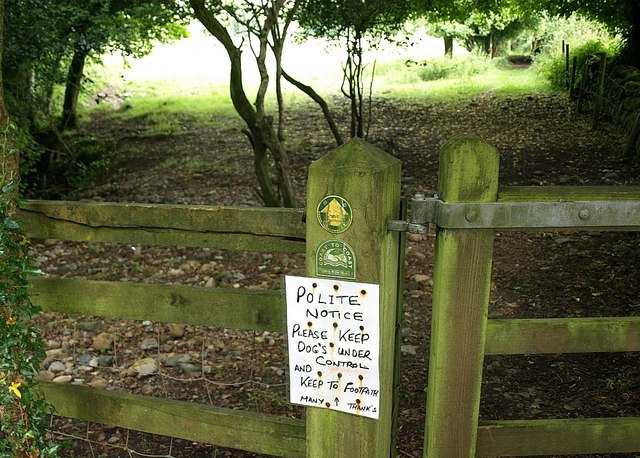 Notice by the Erme-Plym Trail - geograph.org.uk - 1411306