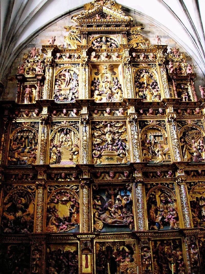 Retablo de la capilla de la Piedad de Pierre Picart, iglesia de San Miguel, Oñate