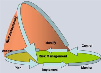 English: Risk management sub processes