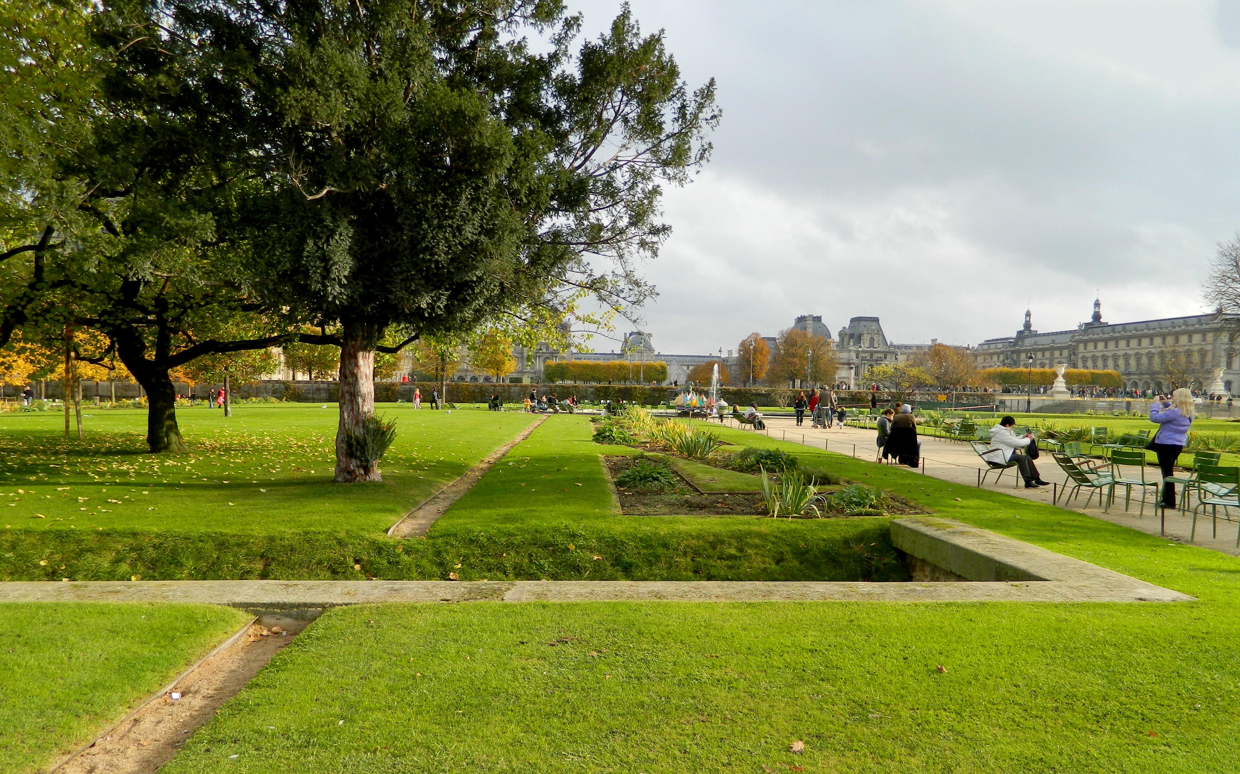 File Paris Jardin des Tuileries allée centrale towards