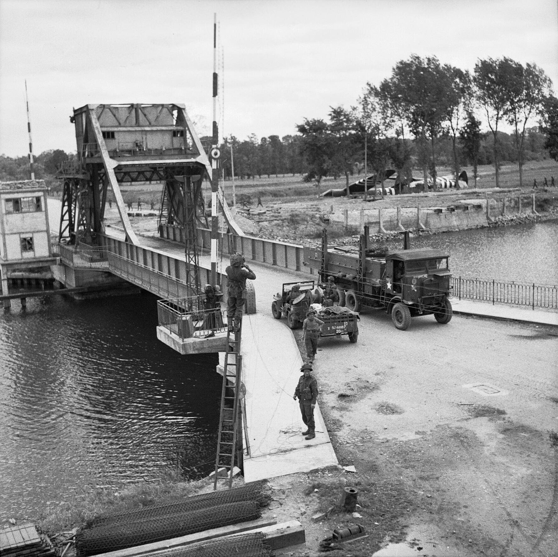 Pegasus Bridge and Horsa Bridge