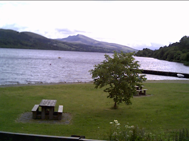 Picnic Area on the Shore of Bala Lake - geograph.org.uk - 10495