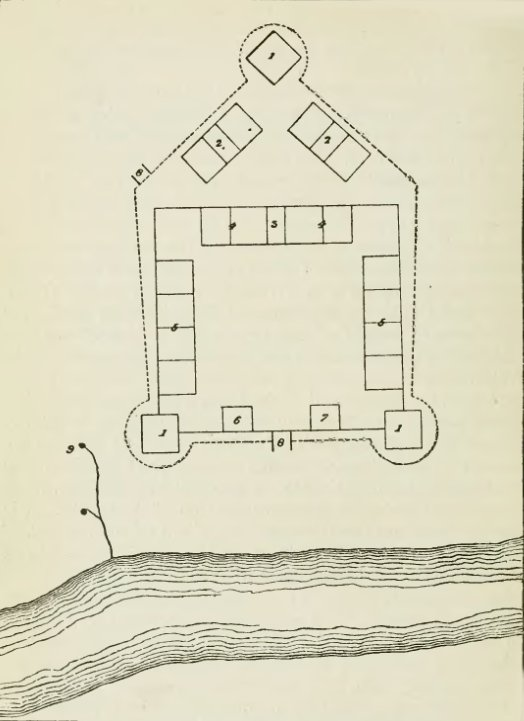 Plan of Fort Madison, 1808 - History of Iowa.jpg