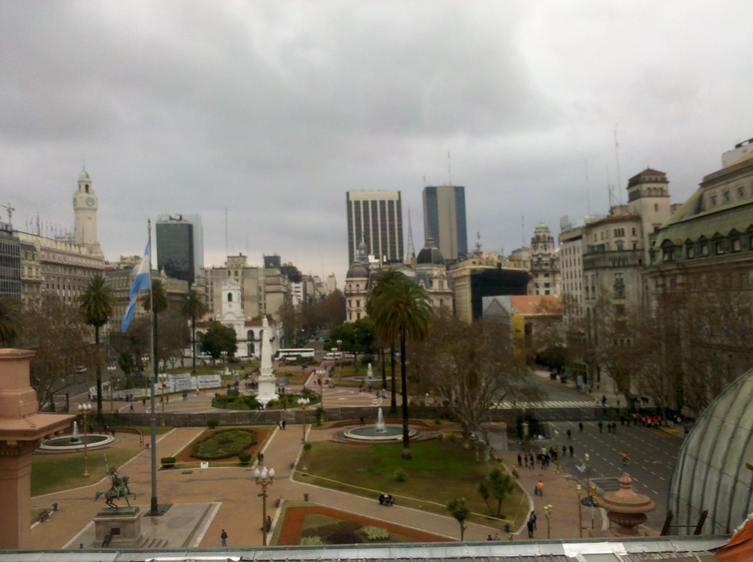 File Plaza De Mayo Desde Terraza De Casa Rosada I Jpg