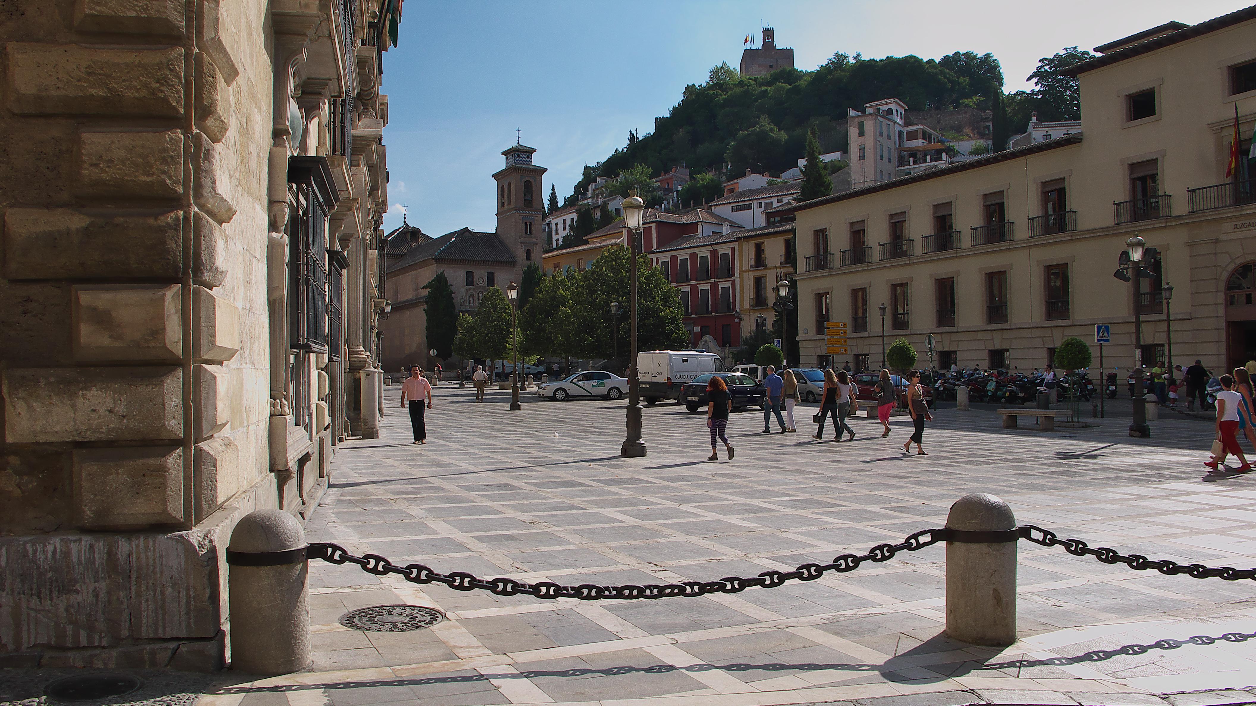 File plaza de santa ana wikimedia commons - Santa ana granada ...
