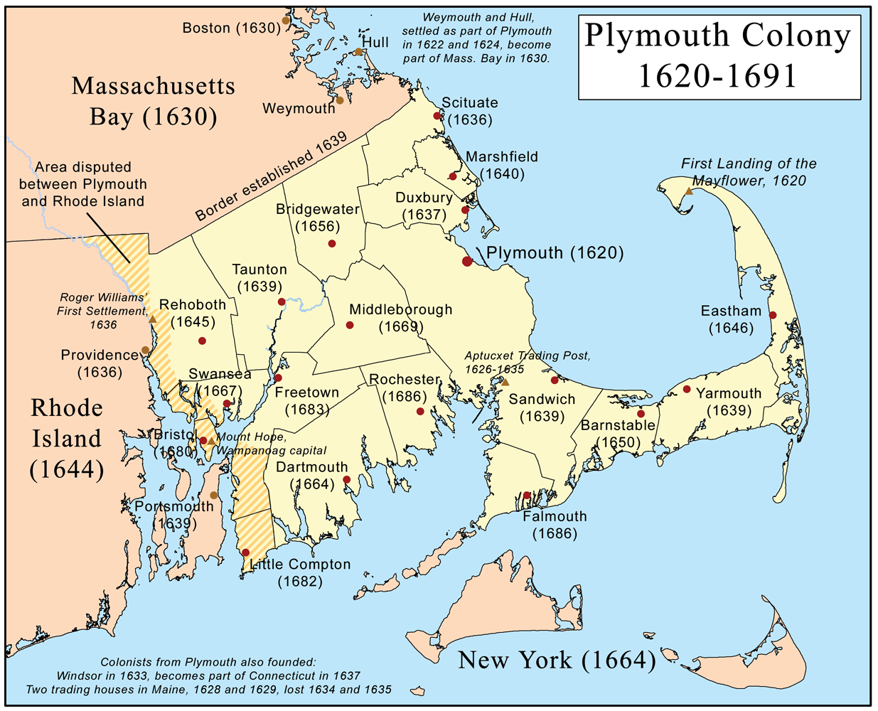 is illustrative notice the border with massachusetts bay making just