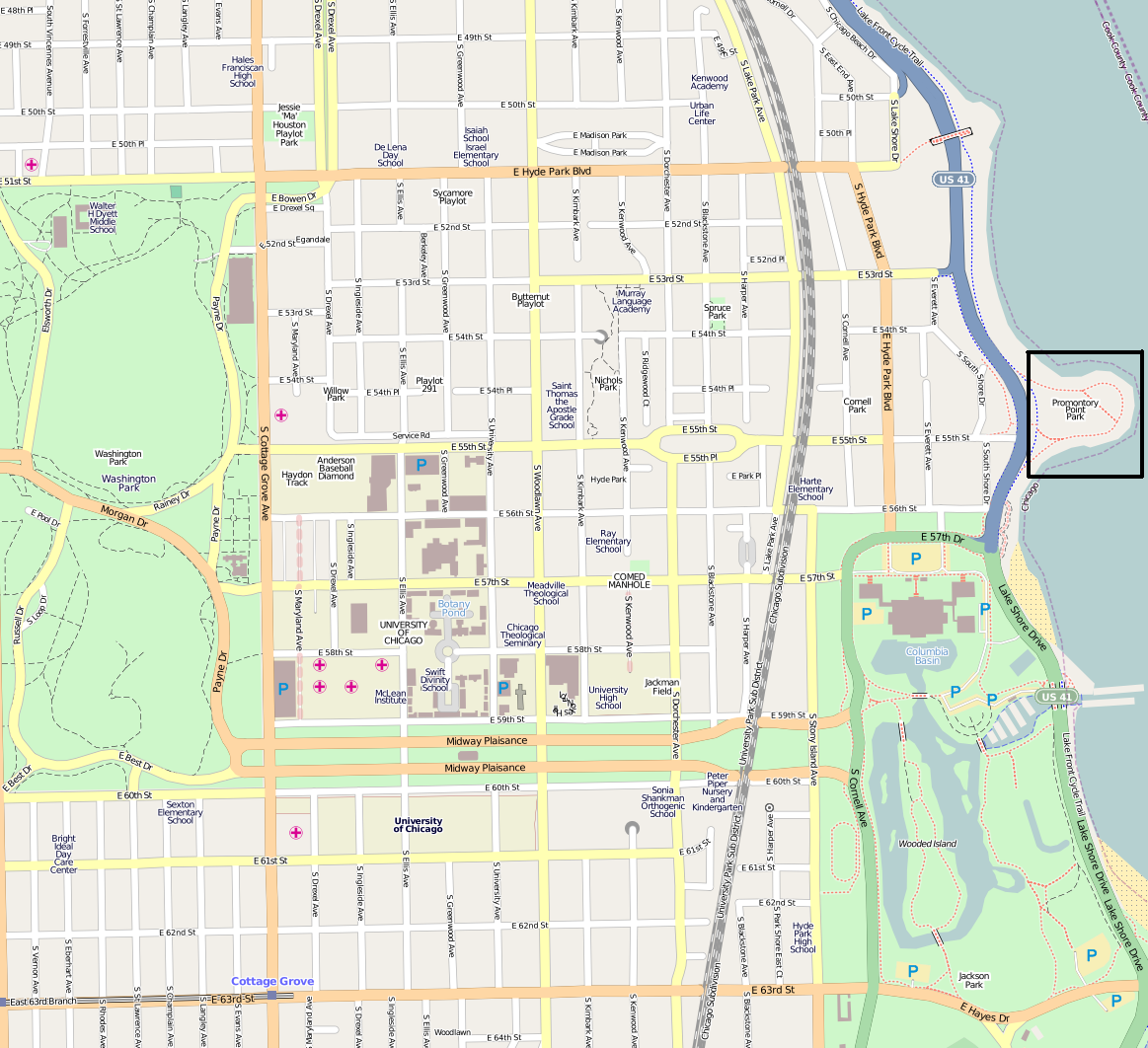 FilePromontory Point MapPNG Wikimedia Commons - Kenwood chicago map