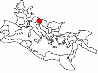 The province of Noricum highlighted within the Roman Empire. REmpire-Noricum.png
