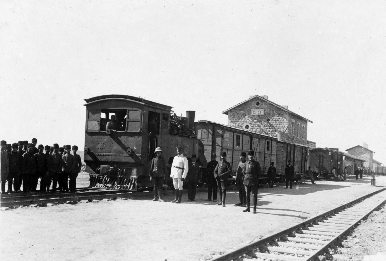 Railroad Station Beer Sheva 1917