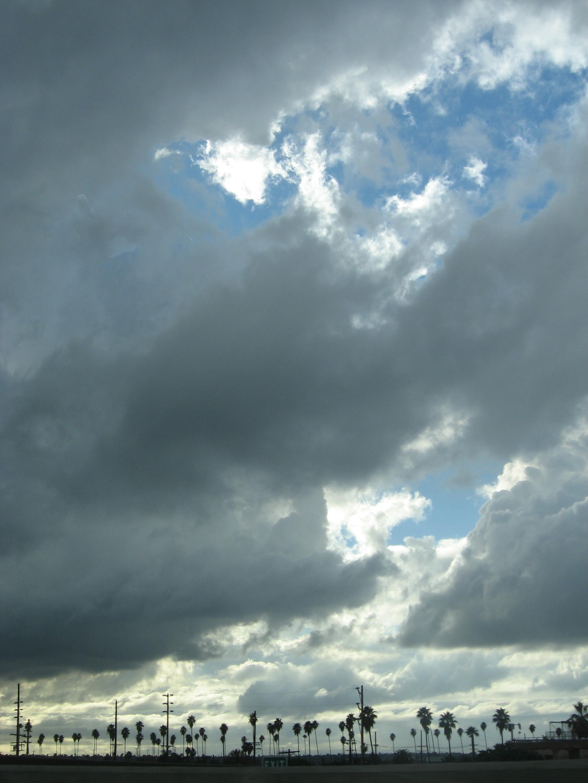 Rain Clouds in Southern California
