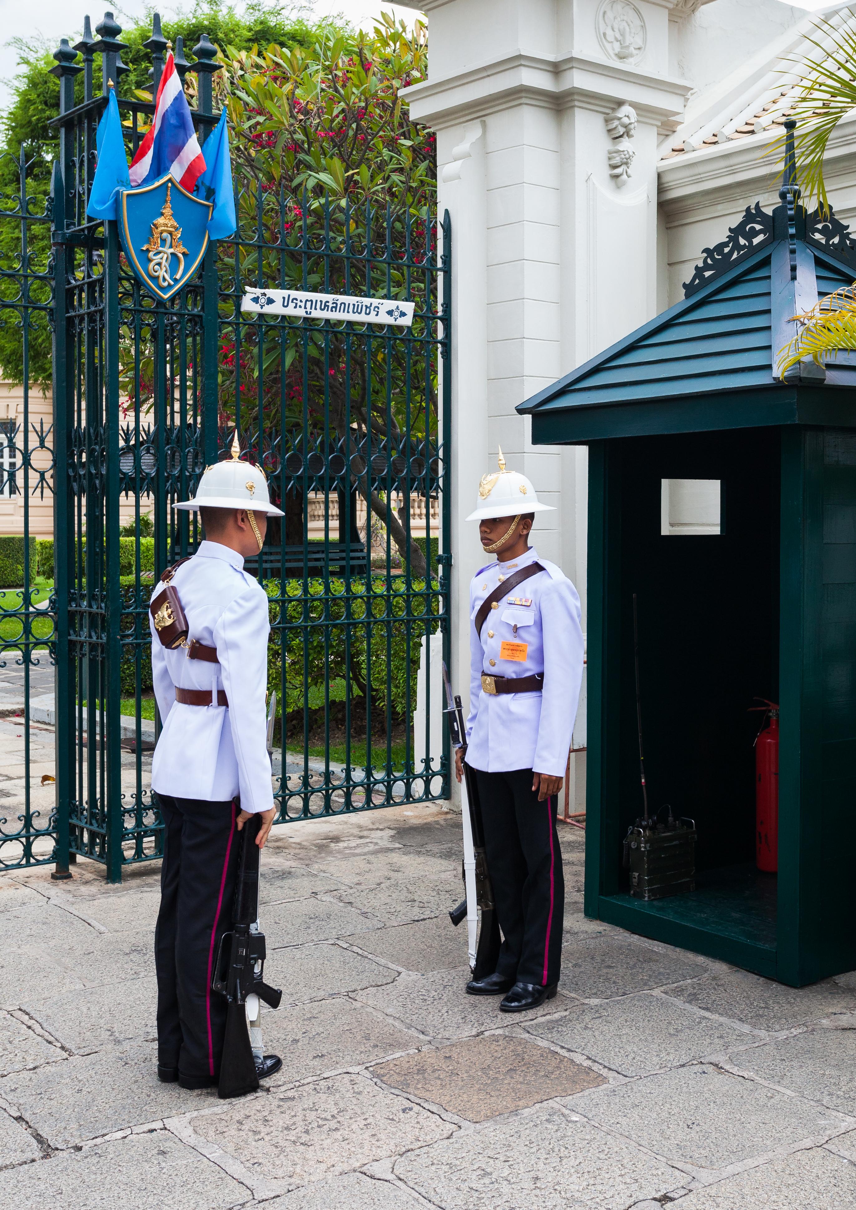 Guardia Real Tailandesa - Wikipedia, la enciclopedia libre